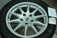 "Porsche 970 Panamera Set of (4) Wheels 8x18 ET 59  9x18 ET53  97036213601 97036213801 18"" Rims"