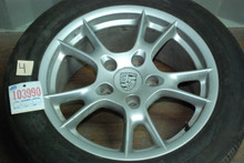 "Porsche 987 Boxster Set of 4 Wheels 6.5x17 ET55 8x17 ET40  98736212205  98736212600 17"" Rims"