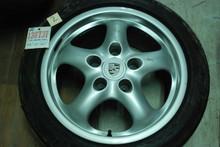 """Porsche 911 993 Set of 4 Cup II Wheels 7x17 ET55 9x17 ET55  9933612400 99336212800 17"""" Rims"""