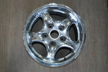 "Porsche 993 911 Chrome Cup II Wheel 7x17 ET55 99336212400  17"" Rim OEM"