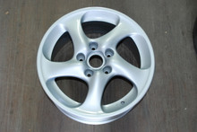 "Porsche 996 911 Turbo Twist Wheel Solid Spoke 8x18 ET50  99636213601 18"" Rim OEM"