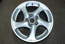 "Porsche 996 911 Turbo Twist Wheel Solid Spoke 8x18 ET50  99636213601 OEM 18"" Rim"