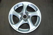 "Porsche 911 996 Turbo Twist Wheel Solid Spoke 8x18 ET50  99636213601 18"" Rim OEM"