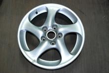 """Porsche 911 996 Turbo Twist Wheel Solid Spoke 8x18 ET50  99636213601 18"""" Rim OEM"""