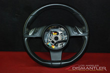 Porsche 958 Cayenne Black 3 Spoke Steering Wheel 7PP419091AD A34 Panamera 970