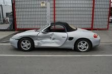 1999 Silver Boxster 986