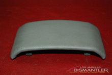 Porsche 911 996 Carrera Center Console Trim Leather Gray 99655212700 OEM