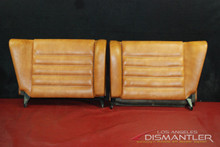 Porsche 911 964 993 Carrera Rear Leather Backrests Seats in Cork
