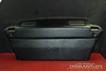 Porsche 993 911 Targa Package Tray Black Vinyl Rear Panel Cover + Speakers