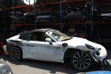 2013 White 991 Carrera Cabriolet