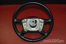 Porsche 911 996 Carrera 4-Spoke Steering Wheel Black Leather 993.347.804.54 OEM