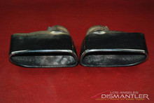 Porsche 911 997 Turbo GT2 Pair RIGHT LEFT Exhaust Tips Boysen Tailpipe Tail Pipe