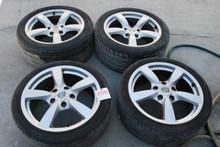 """Porsche 987c Cayman S Wheels 8x18 ET57  9x18 ET43  98736213601  98736213801 18"""" Rims"""