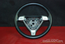 Porsche 911 997 987 Boxster 3-Spoke Steering Wheel Black Leather 99734780403 OEM