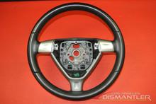 Porsche 911 997 987 Boxster 3-Spoke Steering Wheel Black Leather 99734780414 OEM