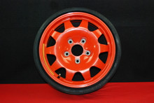"Porsche 911 996 TURBO Orange Spare Wheel / Tire 5.5x15 ET10 16"" 99636215000 OEM"