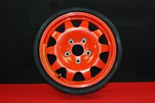 "Porsche 911 996 TURBO Orange Spare Wheel / Tire 5.5x15 ET10 16"" 99636215000 OEM"
