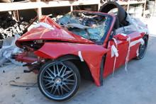 Porsche Red 911 997 Carrra Cabriolet