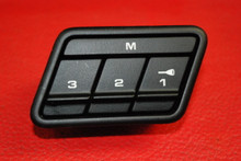 Porsche 911 997 Carrera Power Seat Memory Switch Knob Button OEM