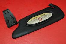 Porsche 986 Boxster Black Sun Visor LEFT Drivers Side 98656160700 OEM Driver