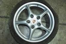 "Porsche 996 MY02 5-Spoke Wheel 7.5x18 ET50 99636213405 18"" Rim OEM"