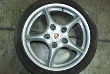"Porsche 996 MY02 5-Spoke Wheel 7.5x18 ET50 99636213405 18"" Rim OEM"
