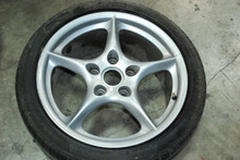 "Porsche 996 MY02 5-Spoke Wheel 9x18 ET52 99636213800 18"" Rim OEM"