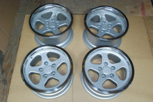 Porsche 911 930 Carrera Turbo RUF Speedline Wheels Rim Set  9x17 10x17  Italy Rare