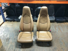 Porsche 911 997 987 Cayman Boxster Tan Seats 2 Way Power Light weight