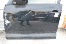 08 09 10 Porsche 957 Cayenne Left Driver Front Door Assembly Black OEM 08-10