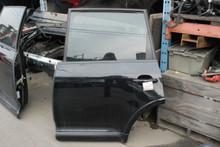 08 09 10 Porsche 957 Cayenne Rear Left Driver's Door Assembly Black 2008-2010