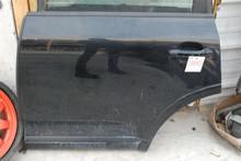 08 09 10 Porsche 957 Cayenne Rear Left Driver's Door Assembly Black