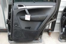 Porsche 957 Cayenne Right Rear Passenger Side Interior Door Panel Trim 2008-2010