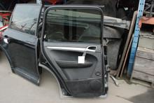 Porsche 957 Cayenne Rear Left Driver's Side Interior Door Panel Trim 2008-2010