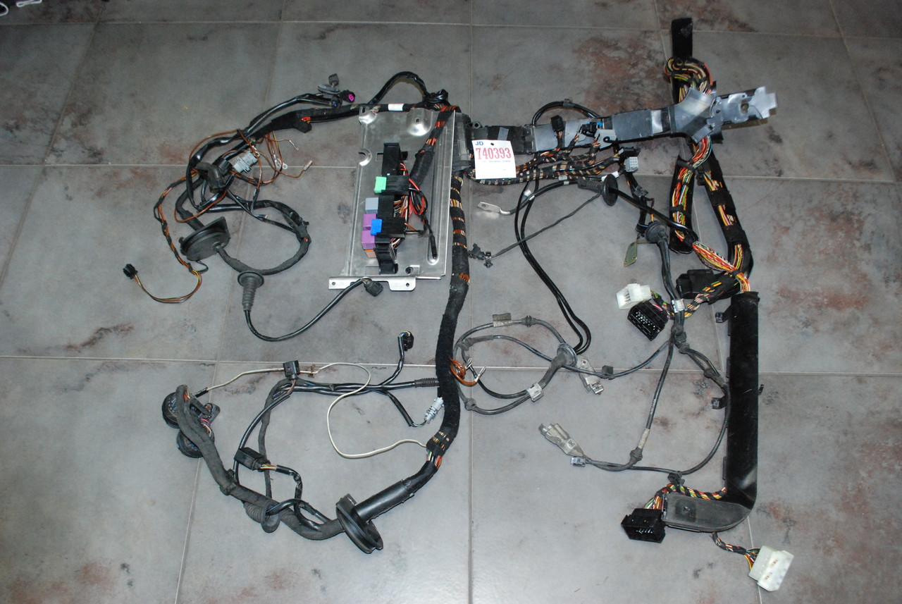 Wondrous Porsche 911 997 Turbo Coupe Rear End Wire Wiring Harness Sensors 06 Wiring Cloud Hisonuggs Outletorg