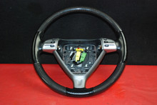 Porsche 911 997 Carrera 987 Boxster Carbon Fiber Steering Wheel w/ Switches OEM