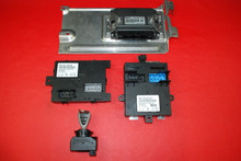 Porsche 911 997 Turbo Manual Trans Engine Control Module ECU Key FOB 06-09 OEM