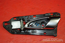Porsche 911 991 Interior Inside Door Handle Left Driver Side 991.555.521.01 OEM