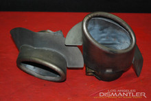 Porsche 911 993 Exhaust Tips Tail Pipe Left Right Pair Bischoff  OEM