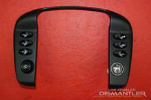 Porsche 911 996 Carrera Black Dash Console Trim Bezel Switches 99655223306 OEM
