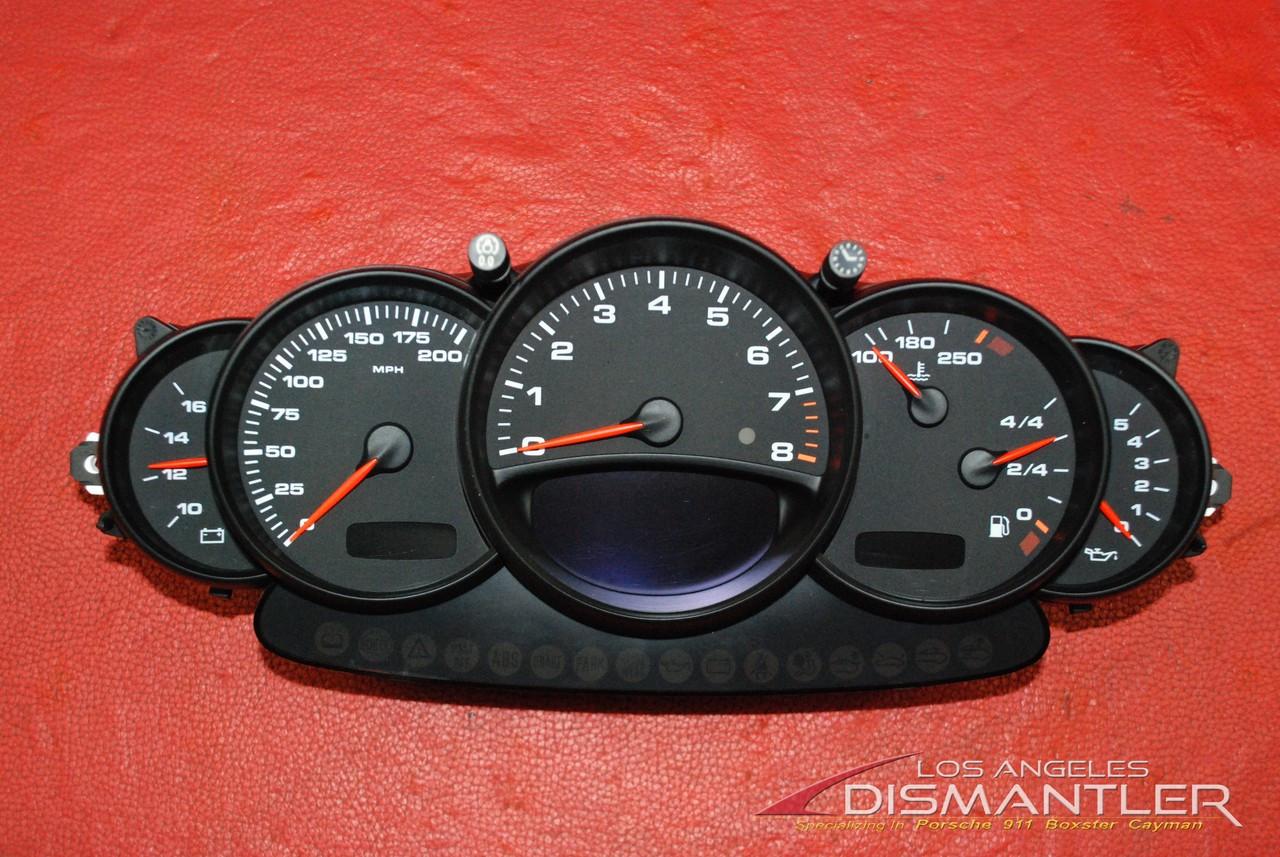 Porsche 911 996 Speedometer Gauge Cluster VDO 9966412230370C