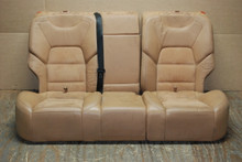 Porsche  957 Cayenne Rear Seats Tan Alcantara Factory OEM  (3 pieces)