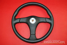 Porsche 911 Carrera Nardi Gara Black Leather Steering Wheel *RARE* Lenkard 365mm