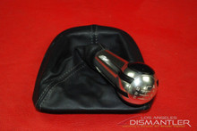 Porsche 911 987 997TT 997 Turbo Shifter Knob & Boot 997.424.981.00 Genuine OEM