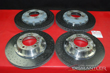 Porsche 911 997 Turbo GT3 GT2 PCCB Brake Rotor Set of 4 Front & Rear OEM