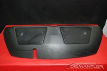 Porsche 911 964 993 Rear Parcel Shelf Upgrade JL Audio Speakers Black Leather