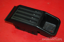 Porsche 911 964 965 993 Turbo Black Leather Factory Cassette Tape Holder *RARE*