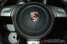 Details about  Porsche 911 997 Carrera S Black Steering Wheel Airbag 3-Spoke OEM 997.803.089.17