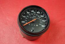 RARE Vintage Porsche VDO 911 Carrera Turbo Speedster Speedometer 160mph 76-89