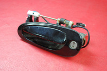 Porsche 996 911 986 Boxster Driver Side Left Door Handle Lock Black L